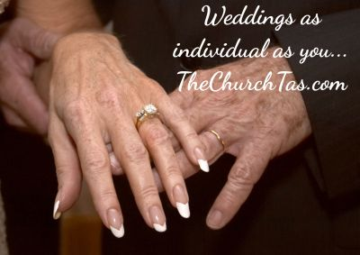 Weddings for older people or 2nd marriages